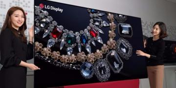 LG Display Showcases World's First 88-inch 8K OLED Display at CES