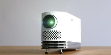 LG Introduces Compact Home Cinema Laser Projector