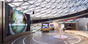 Barco Introduces New XT Series 24/7 Indoor LED Display Tiles