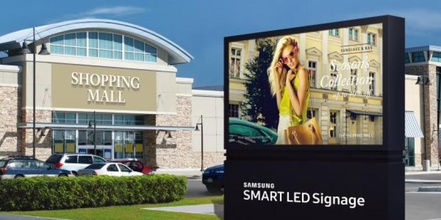 Samsung Launches New Lines of Direct View LED Signage for Indoor and Outdoor Use
