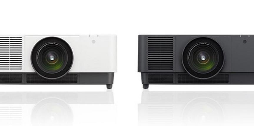 Sony's Brightest 3LCD Laser Projectors Available for Pre-Order