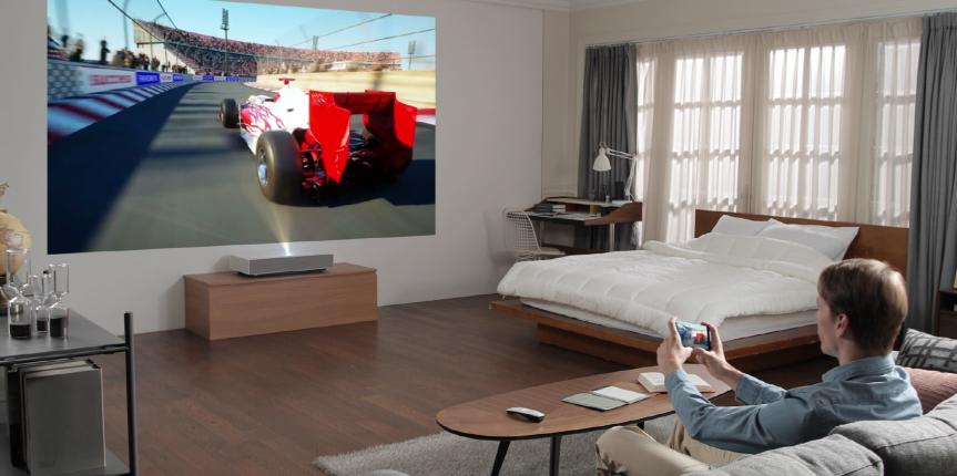 New LG Cinebeam Laser 4K UST Projector to Debut at CES 2019