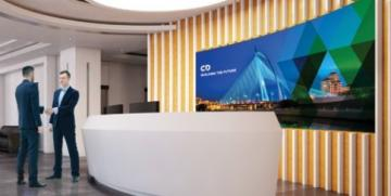 Christie APEX LED Video Wall in an 0.9mm Ultra-Fine Pixel Pitch