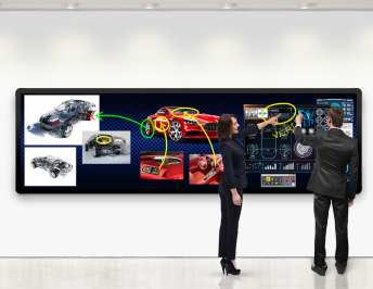 Leyard and Planar Launch New Seamless, Touch-Enabled LED Video Wall